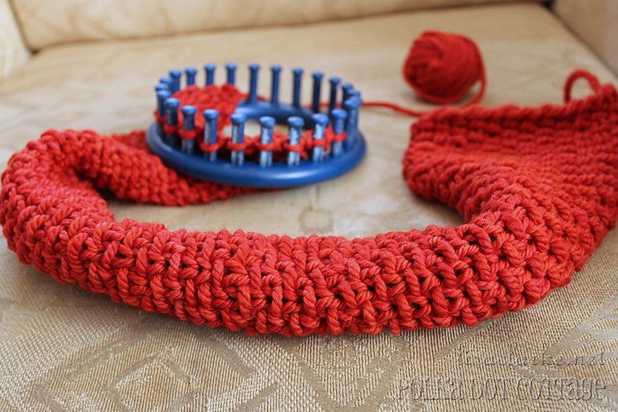 Dorable Round Knitting Loom Patterns Composición - Manta de Tejer ...