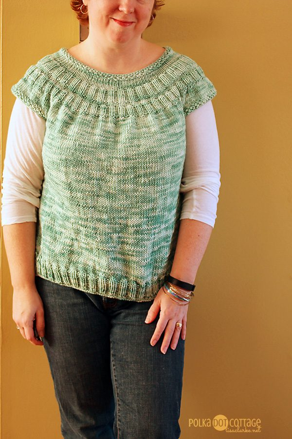 Everyday Cardigan variation, at Polka Dot Cottage