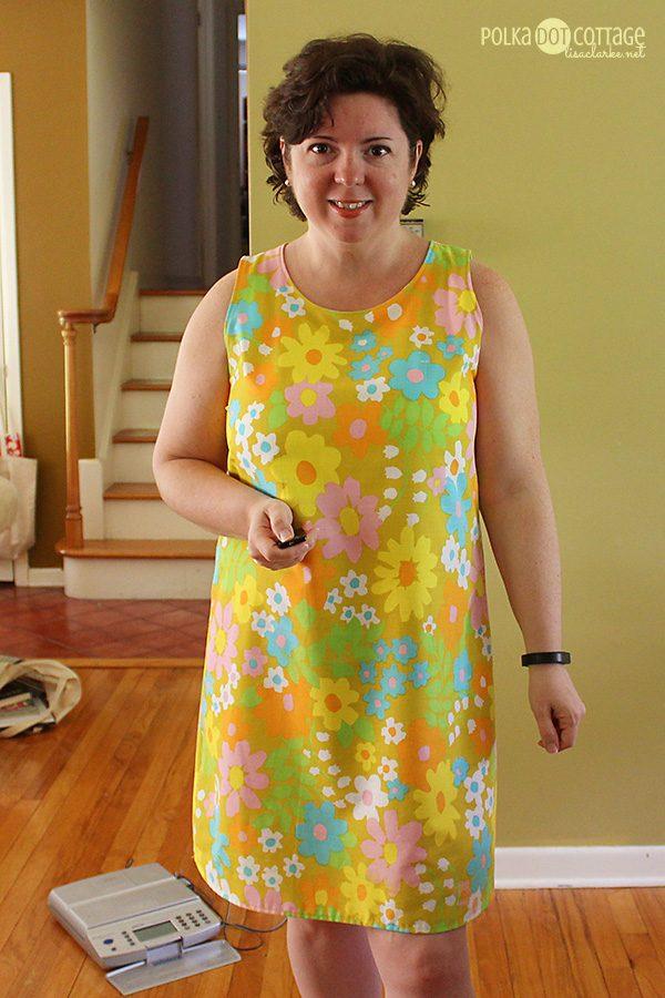 Birthday Dress, at Polka Dot Cottage