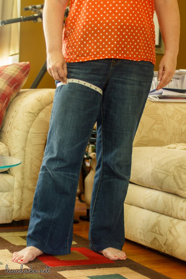 Fancypants Sew-Along: measure yourself