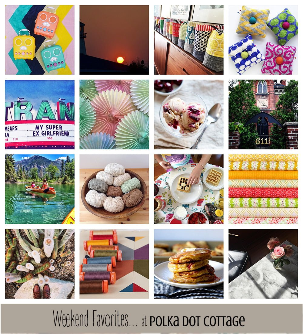 A collage of favorite images for the week, curated from Flickr and Instagram. See www.lisaclarke.net for full photo credits and links back to the original images.