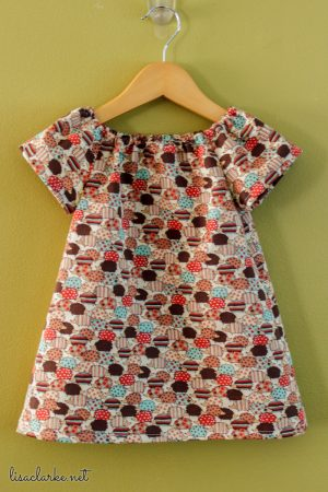 Polly Peasant Dress