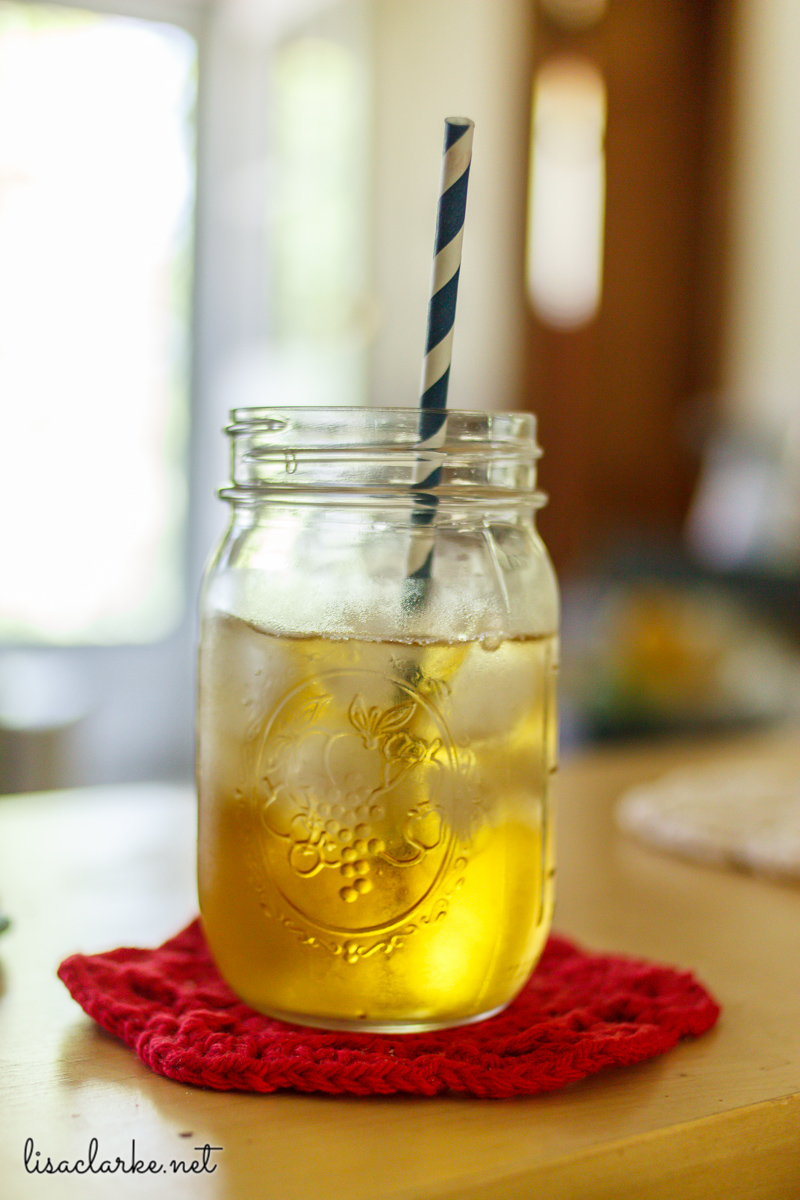 Cold brewed coffee and tea at Polka Dot Cottage