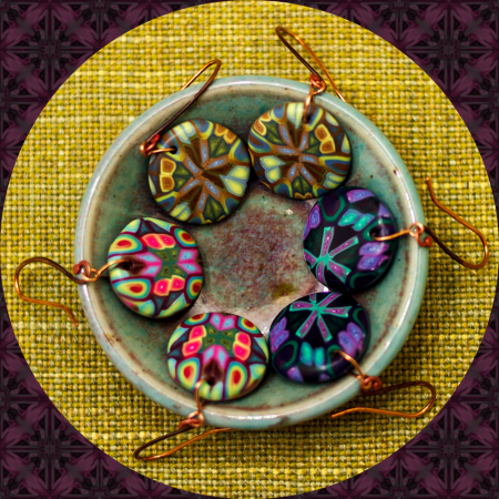 Polka Dot Cottage Handcrafted Polymer Clay Jewelry