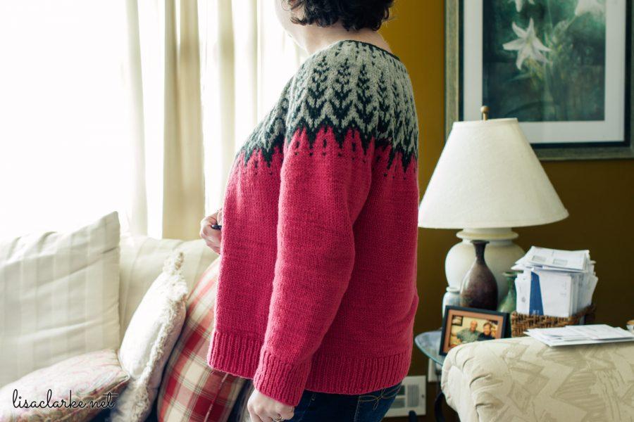 Vintersol Sweater Side
